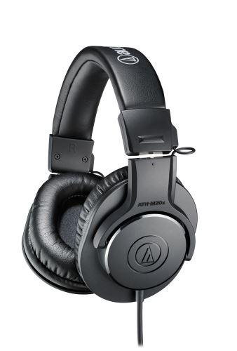 Audio-Technica ATH-M20x Profesionální uzavřená dynamická sluchátka
