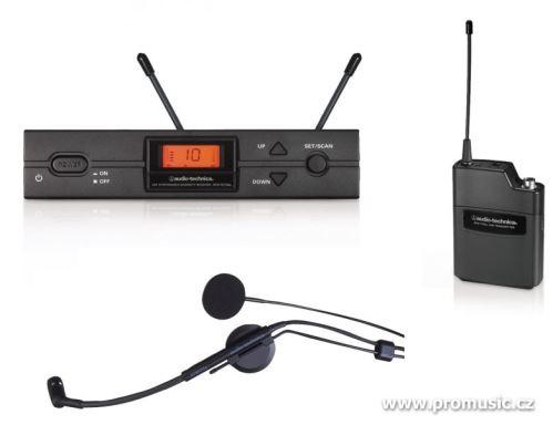 Audio-Technica ATW-2110b/HC2 - UniPak systém s mikrofonem ATM73cW