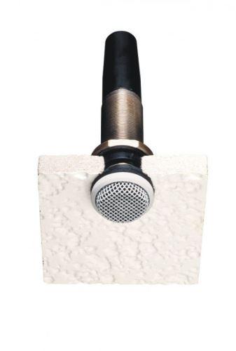 Audio-Technica ES945W -  Všesměrový kondenzátorový boundary mikrofon, fixní náboj - v bílém provedení