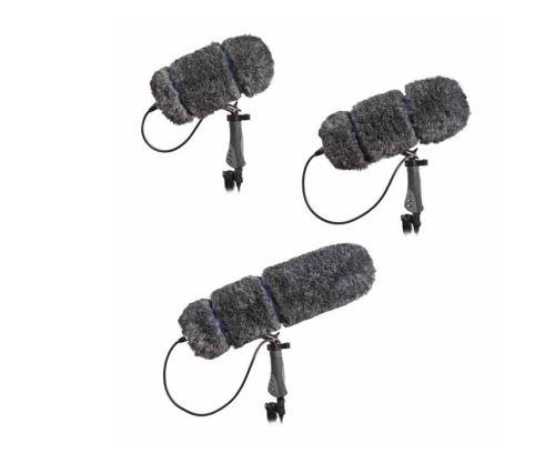 Audio-Technica BPZ-L - Systém série Soft-Zep kožešinová protivětrnná ochrana a pistolová rukojeť, délka 360 mm