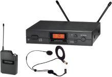 Audio-Technica ATW-2110a/HC2 - UniPak systém s mikrofonem ATM73cW
