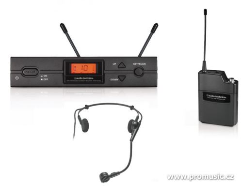 Audio-Technica ATW-2110a/H - UniPak systém s mikrofonem PRO8HEcW