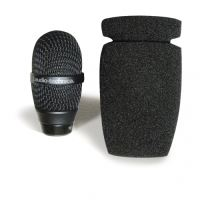Audio-Technica AT8161 - Kovový protivětrný kryt pro použití s mikrofony na husím krku ze série engineered sound
