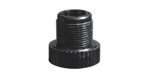 """Audio-Technica AT8422 - Plastová závitová redukce, přizpůsobuje stojany se závitem 3/8"""" mik.držákům se závitem 5/8"""