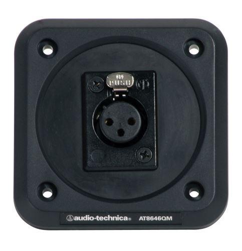 Audio-Technica AT8646QM - Deska s odpruženou montáží s panelovým konektorem XLRF
