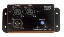 Audio-Technica AT8681 - UniMix® pro sloučení 2 mikrofonů do jediného výstupu s nastavením vzájemného poměru