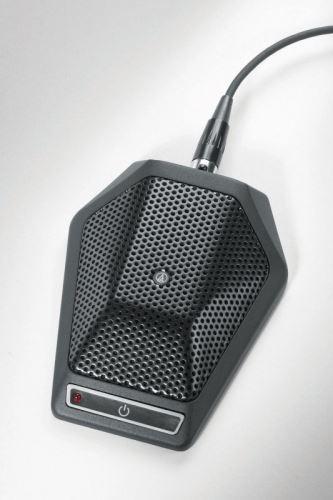 Audio-Technica U891RCX - Kardioidní kondenzátorový boundary mikrofon s vypínačem i  s ovládácím kontaktem
