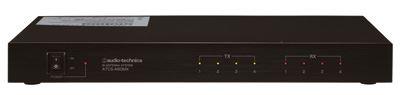 Audio-Technica ATCS-A60MX - Kontrolní jednotka pro 4x ATC-A60TX a 4x ATC-A60RX