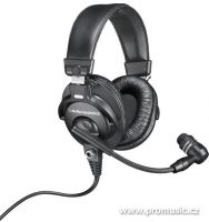 Audio-Technica BPHS1-XF4 - Komunikačný headset, 4-pinový XLRF