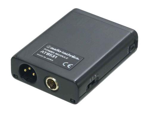 Audio-Technica AT8531 - Napájecí modul na opasek, baterie 1,5V AA & phantom, vstup na TA3M