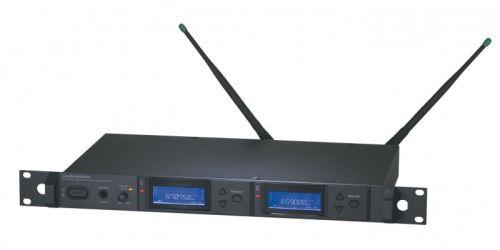 Audio-Technica AEW-R5200 - Diverzitní UHF dvojitý přijímač s ethernet připojením