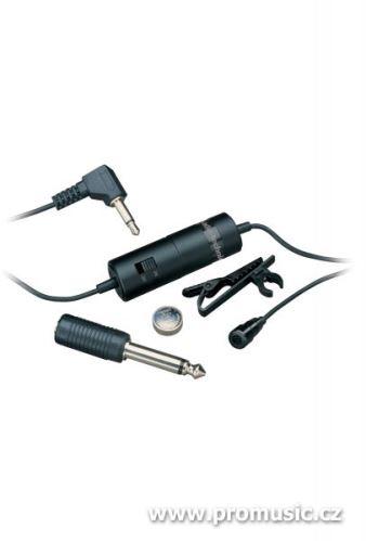 Audio-Technica ATR3350 - Všesměrový kondenzátorový klopový mikrofon