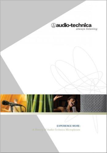 Historie mikrofonů Audio-Technica