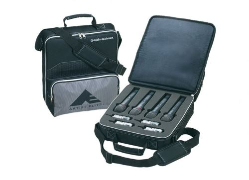 Audio-Technica AEW-TB44 - Taška pro vysílače sérií AEW pro uložení 4 handheld a 4 body pack vysílač