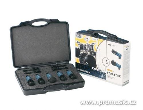 Audio-Technica MB/DK5 - Souprava 5 mikrofonů Midnight Blues pro bicí nástroje