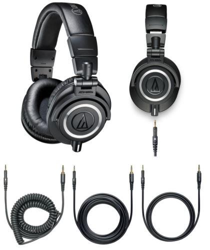 Audio-Technica ATH-M50x Profesionální uzavřená dynamická sluchátka