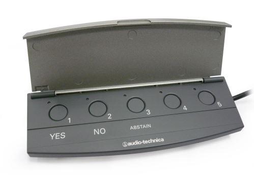 Audio-Technica ATCS-V60 - Hlasovací jednotka pro ATCS-60 IR konferenční systém