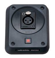 Audio-Technica AT8647QM/S - Deska s odpruženou montáží s panelovým konektorem XLRF a vypínačem (pro pevné instalace)