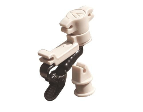 Audio-Technica AT8461-TH - Patka se sponou na oděv pro AT899 a AT898 se samostatným a dvojitým mik. držákem, tělová b