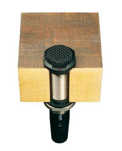 Audio-Technica ES945 - Všesměrový kondenzátorový boundary mikrofon, fixní náboj - v černém provedení