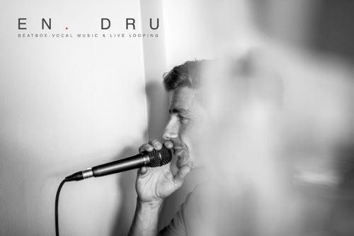 EN.DRU, vicemistr světa v loopingu a mistr Evropy v beatboxu, preferuje dynamický mikrofon Audio-Technica AE6100
