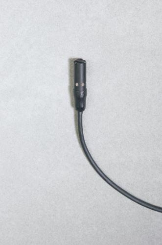 Audio-Technica AT898c - Subminiaturní kardioidní kondenzátorový mikrofon, s kabelem bez konektoru