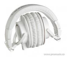 Audio-Technica ATH-M50xWH Profesionální uzavřená dynamická sluchátka