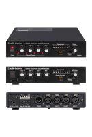 Audio-Technica AT-MX341b - Automatický mixer vybavený 4 přepínatelnými mikrofonními nebo linkovými kanály