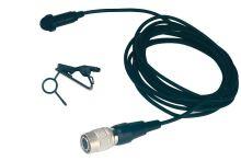 Audio-Technica MT838cW - Kardioidní mikrofon se sponou a windscreenem