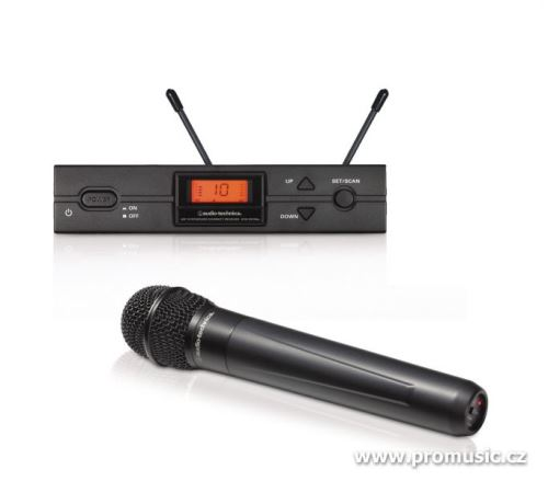 Audio-Technica ATW-2120a - Bezdrátový systém s handheld mikrofonem