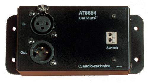 Audio-Technica AT8684 - UniMute® mikrofonní útlumový článek s funkcí přepínače definovanou uživatelem